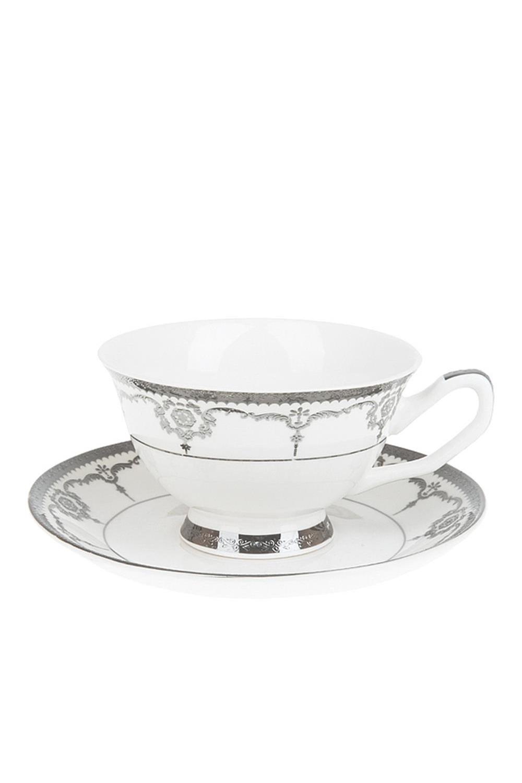 Чайный набор ВаленсаПосуда<br>Чайный набор 2пр., v=200мл. Материал: Фарфор<br>