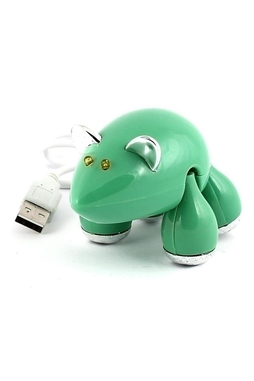 Разветвитель HUB МышьУчеба и работа<br>Becёлый, разноцветный разветвитель в виде забавного животного поможет подключить к компьютеру одновременно до четырёх различных USB-приборов: зарядное устройство для телефона, флеш-накопитель, подогреватель для чашки, светильник, вентилятор, кулер или любой другой, снабженный соответствующим шнуром. Версия USB-порта 2.0 Материал: пластик<br>