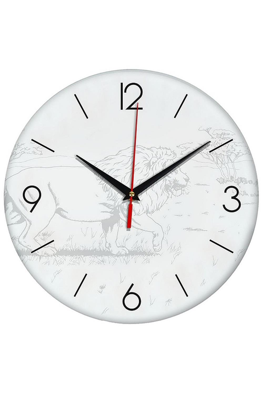 Часы раскраска ЛевИнтерьер<br>Оригинальные часы-раскраска со специальным основанием из плотного картона. В комплекте имеются акварельные краски, также для раскрашивания можно использовать карандаши, ручки, маркеры, фломастеры. Механизм хода бесшумный (не тикающий). Элемент питания: 1 х батарейка (АА, LR6), 1.5В Размеры упаковки: 30см х 30см х 4см. Размеры часов: 24х3 см.<br>