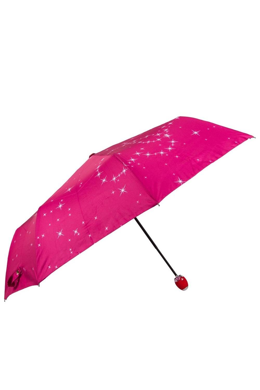 Зонт складной Для любимыхПодарки<br>Яркий механический зонт двойного сложения с романтическим рисунком на куполе скажет о ваших чувствах вместо вас. Зонт хранится в тканевом чехле из того же непромокаемого материала. Материал: нейлон, пластик, металл Упаковка: прозрачный пакет Зонт автоматический с чехлом, упакован в прозрачную упаковку. Диаметр купола 100 см, размеры в сложенном состоянии 30х6 см.<br>