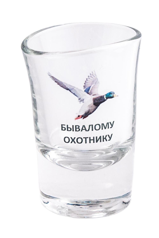 Пьяная рюмка Бывалому охотнику рюмки win рюмка