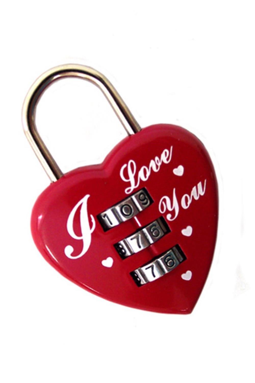 """Купить со скидкой Замочек для влюбленных """"Сердце"""""""