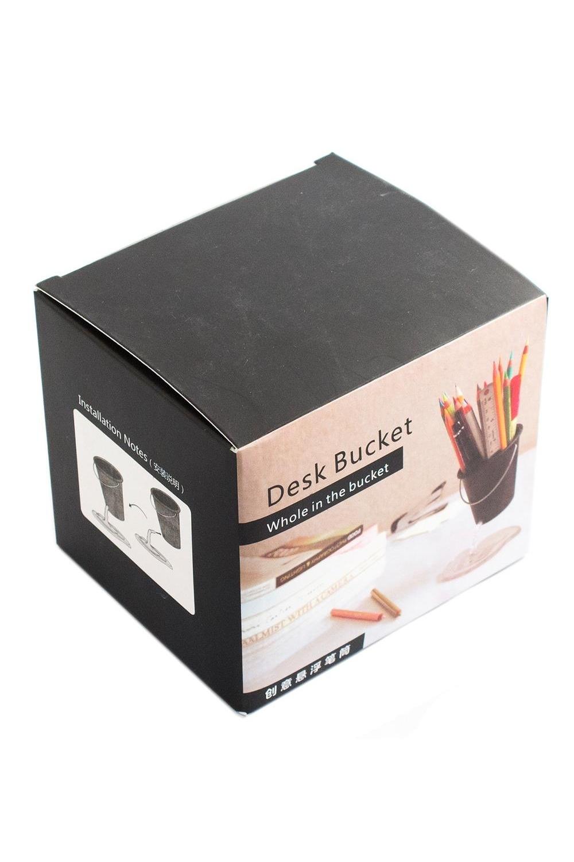 Купить Подставка под ручки Ведерко красное , Подставки для карандашей