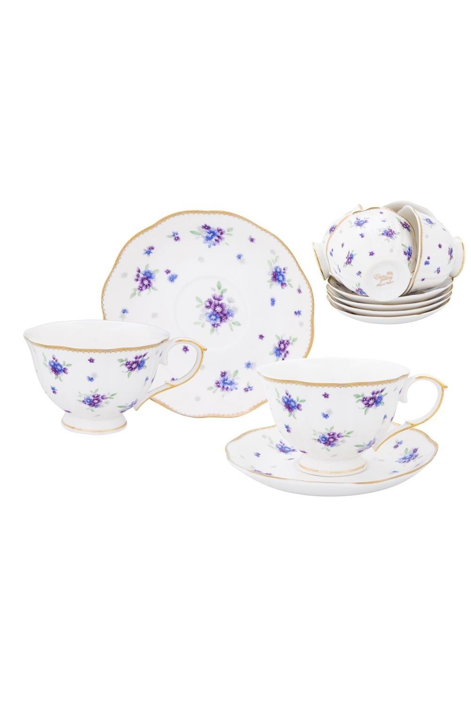 Чайный набор Сиреневый туман столовое серебро аргента набор чайный сад византия 3 предмета футляр