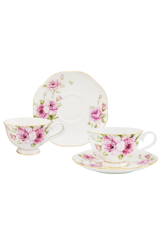 Чайная пара Амалия чайная пара фарфор вербилок маки 2 предмета 29951530