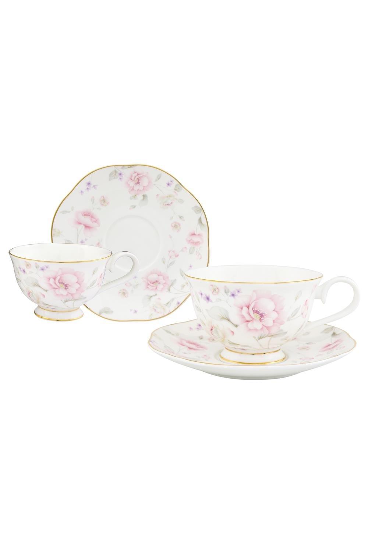 Чайная пара Жизель чайная пара фарфор вербилок маки 2 предмета 29951530