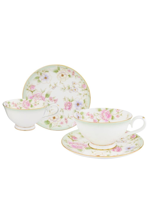 Чайная пара Карнавал цветов чайная пара фарфор вербилок маки 2 предмета 29951530