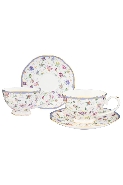 Чайная пара Цветочный каприз чайная пара фарфор вербилок маки 2 предмета 29951530