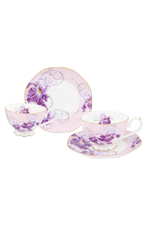Чайная пара Ирисы чайная пара фарфор вербилок маки 2 предмета 29951530