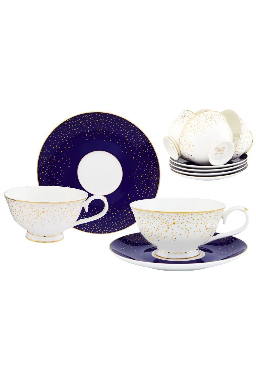 Чайный набор День и ночь чайный набор маки 12 предметов блюдце 15 15 2 5 см 6 шт чашка на ножке 12 5 10 7 см 250 мл 6 шт в п у 1236245