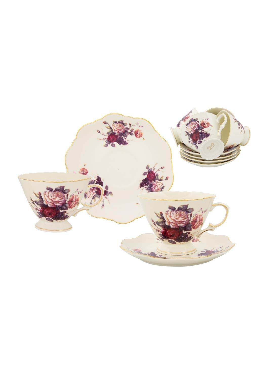 Чайный набор Бархатный нектар чайный набор маки 12 предметов блюдце 15 15 2 5 см 6 шт чашка на ножке 12 5 10 7 см 250 мл 6 шт в п у 1236245