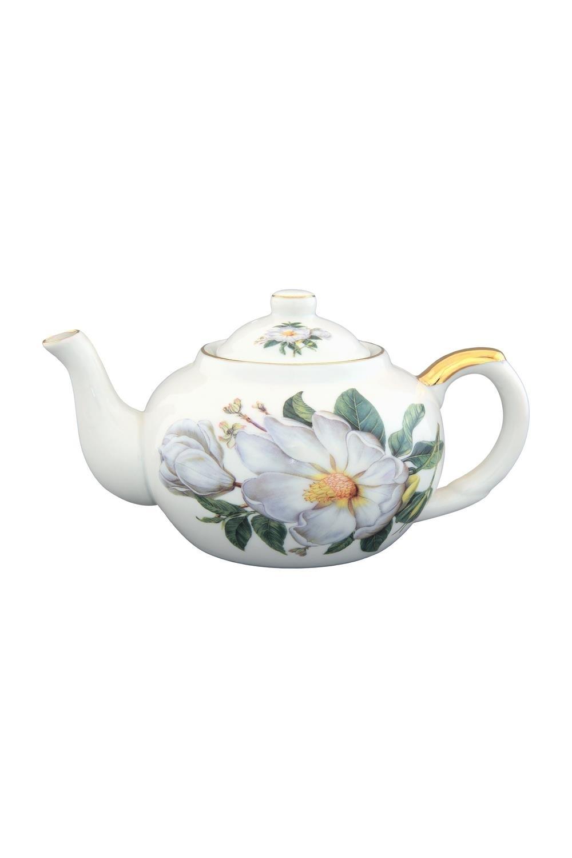 Чайник с металлическим ситом Белый шиповник