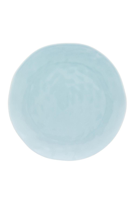 Тарелка круглая для закуски МятнаяПосуда<br>21,5*21,5*2 см. Фарфор<br>