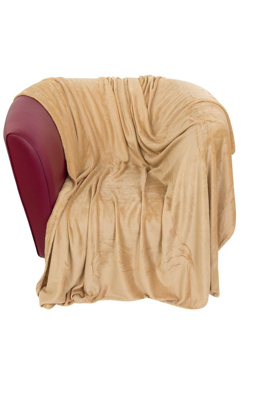 Плед Сладкая карамельИнтерьер<br>150*200 см., состав - полиэстер, плотность - 220 г/м2<br>