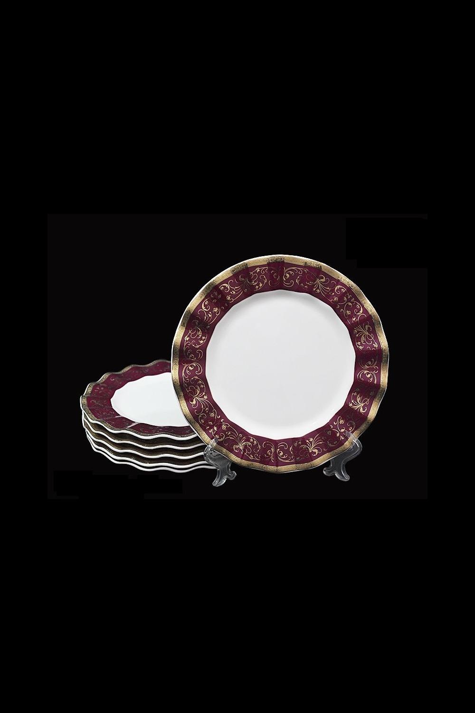 Набор тарелок КапризиоПосуда<br>Д=20 см, костяной фарфор.<br>