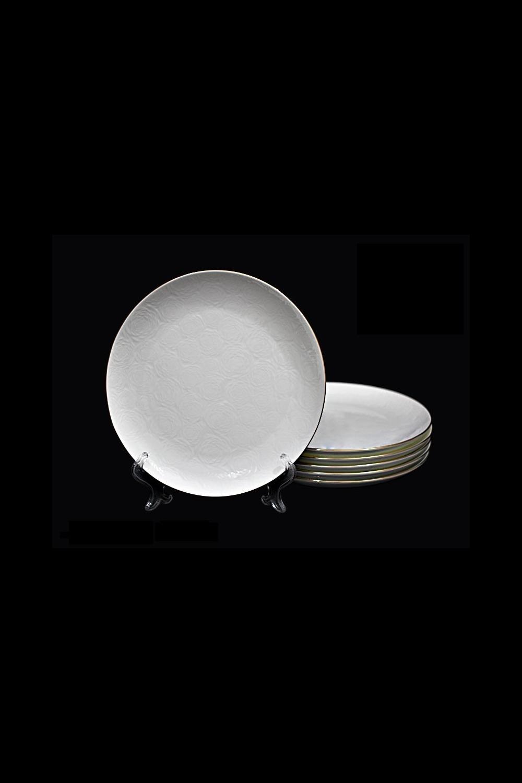 Набор тарелок ГроссетоПосуда<br>6 шт, Д=21 см, фарфор.<br>