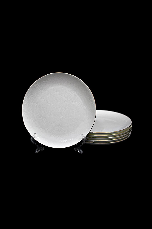 Набор тарелок ГроссетоПосуда<br>6 шт, Д=27 см, фарфор.<br>