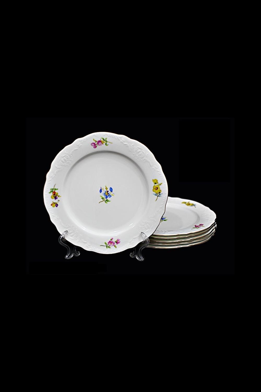 Набор тарелок ДжустоПосуда<br>6 шт, Д=20 см, фарфор.<br>