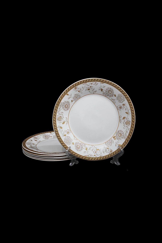 Набор тарелок СеджаноПосуда<br>Набор из 6 тарелок, Д=27,5см, опаловое стекло.<br>