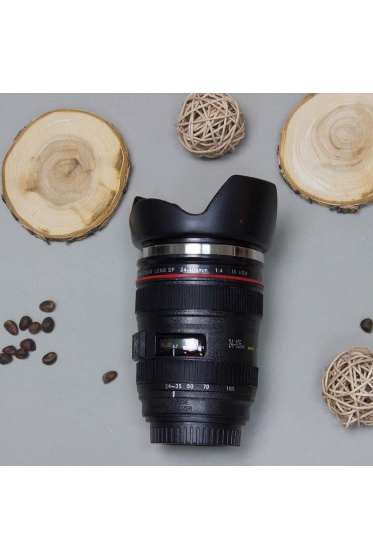 Кружка-тамблер «Объектив 24-105» с блендой