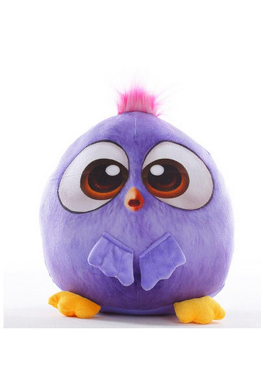 Мягкая игрушка ПтичкаИгрушки и куклы<br>На голове у птичек есть небольшой шнурок, при помощи которого можно подвесить игрушку в любом месте. Небольшой размер птички делает ее подходящей для подарка в автомобиль или на новоселье. Размер: 18см. Материал: Плюш<br>