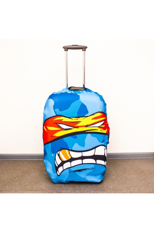 Чехол для чемодана Ниндзя XLДача и Путешествия<br>Детям и подросткам понравится дерзкий характер чехла для чемодана Ниндзя. Яркий и веселый принт как бы говорит посторонним: «не трожь, не твое!». Чехол увеличит шансы на спасение чемодана не только от чужих рук. Прочная современная ткань смягчит воздействие, и сама поверхность чемодана не пострадает. Меньше забот, больше хороших впечатлений! Размер: XL-74см(по длине). Материал: Текстиль<br>
