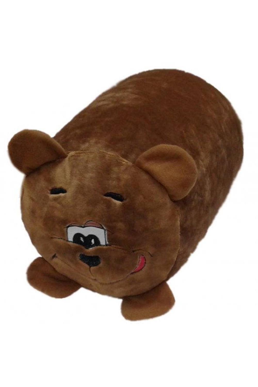 """Антистрессовая подушка-валик """"Медведь"""""""