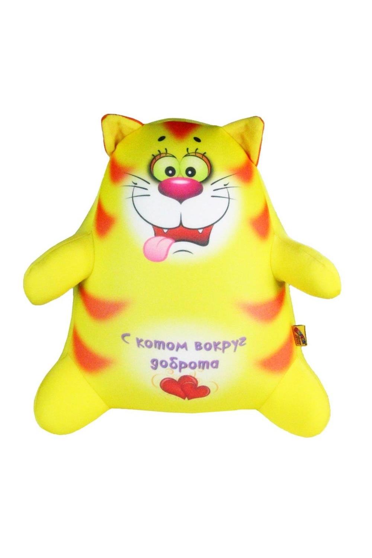 "Антистрессовая игрушка-подушка ""Котик Обормотик"""