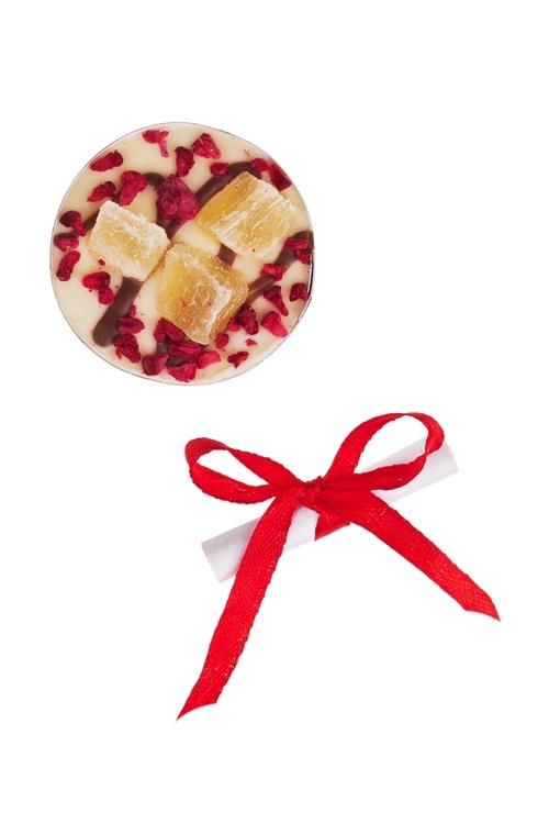 Шоколад с предсказанием Чоко с ананасомСувениры и упаковка<br>10г, Д=4см<br>