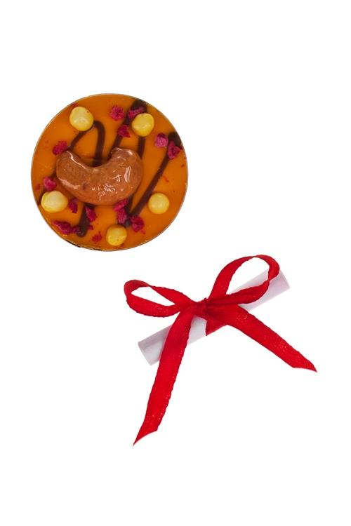Шоколад с предсказанием Чоко с апельсиномСувениры и упаковка<br>10г, Д=4см<br>