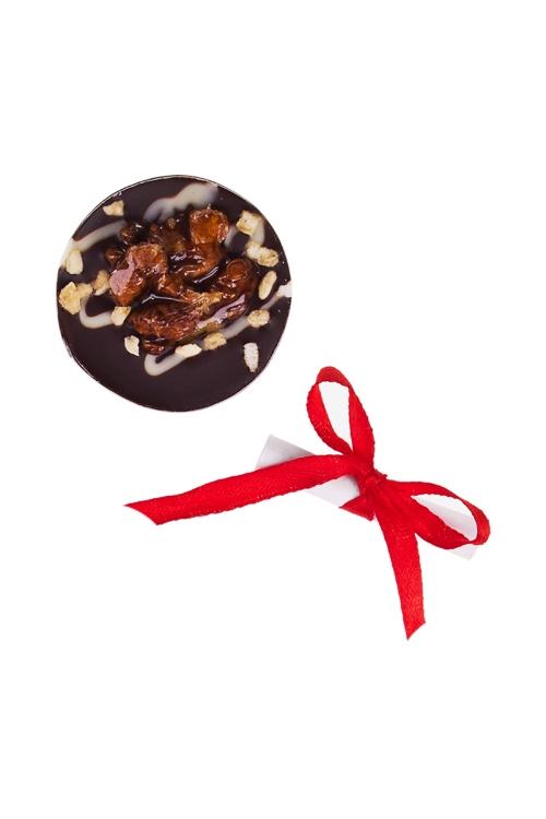 Шоколад с предсказанием Чоко с грецким орехомСладости<br>10г, Д=4см<br>