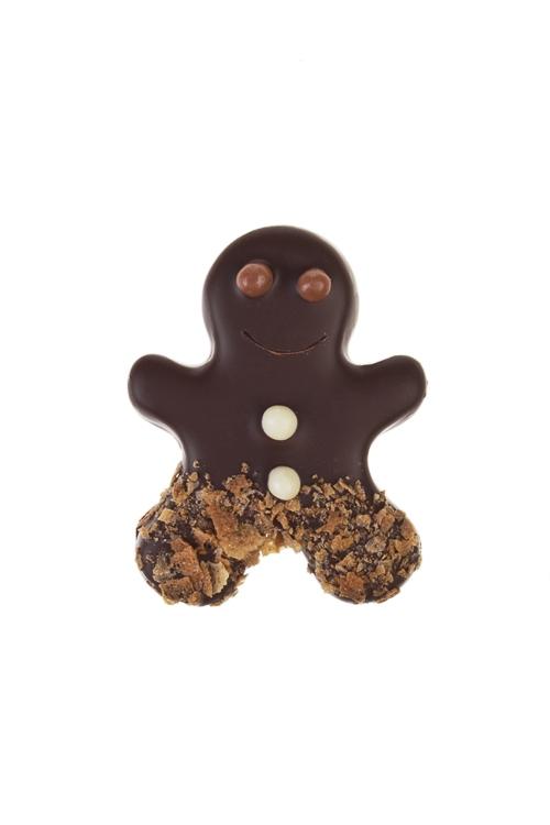 Конфета с предсказанием Человечек из марципана в темном шоколадеСувениры и упаковка<br>31г<br>