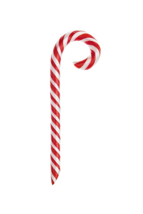 Леденец Сладкая тростьСувениры и упаковка<br>Карамель леденцовая со вкусом клубники, 15г, Дл=13см<br>