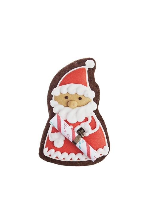 Печенье с предсказанием Дед МорозСувениры и упаковка<br>7*9см, шоколадный<br>