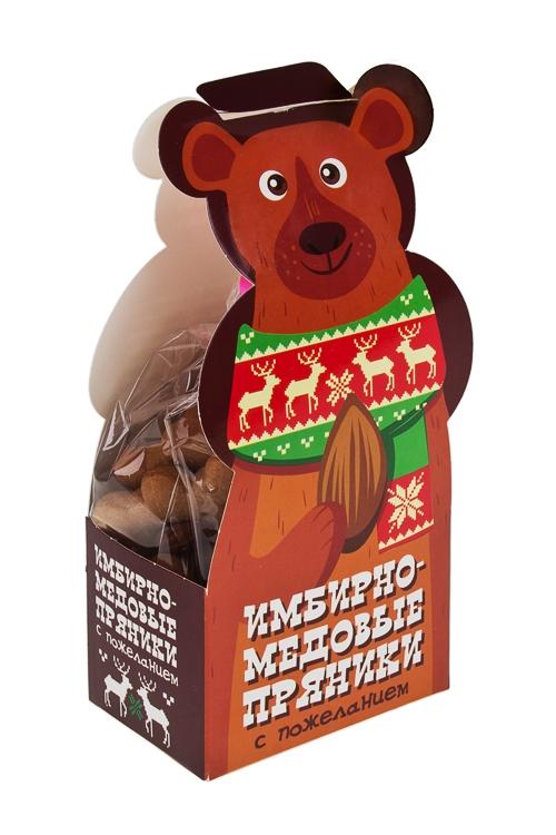 Набор пряников Мишки с орешкамиСувениры и упаковка<br>150г<br>