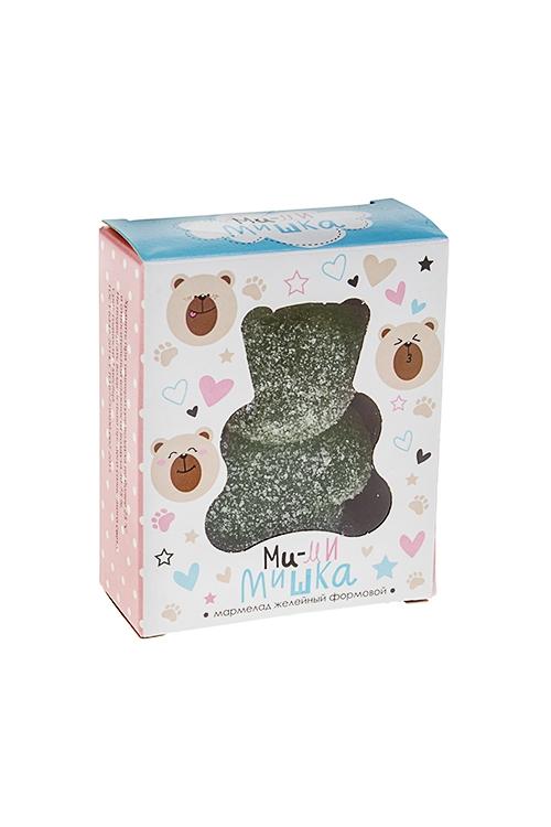 Мармелад МимимишкаСувениры и упаковка<br>Мармелад желейный, 100г, зеленый, в коробке<br>