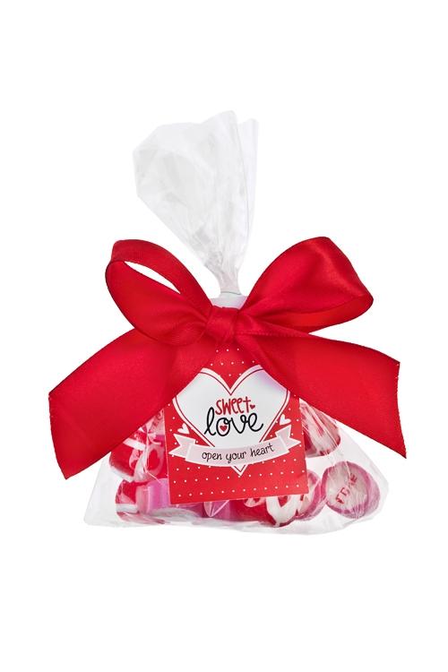 Карамель ЛюбовьПодарки для женщин<br>Карамель леденцовая, 45г, в пакете<br>
