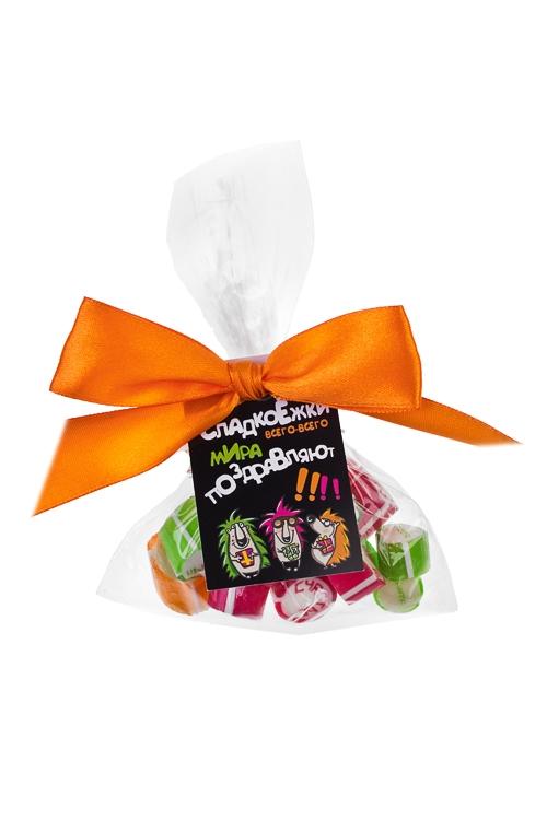 Карамель Счастье, удача, успехСувениры и упаковка<br>Карамель леденцовая, 45г, в пакете<br>