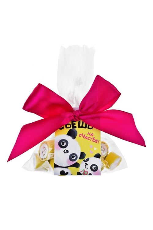 Карамель Панда на счастьеПодарки для женщин<br>Карамель леденцовая, 45г, в пакете<br>