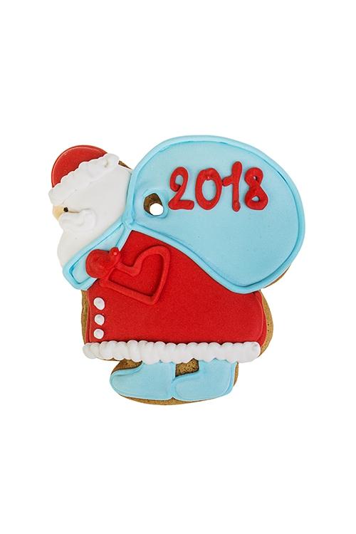 Пряник имбирный Дед Мороз с мешкомСувениры и упаковка<br>13*10см<br>