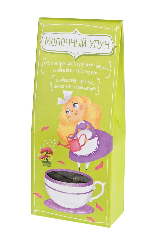 Чай Бодрящий улунПодарки ко дню рождения<br>Чай молочный улун цветок ночи, 75г<br>
