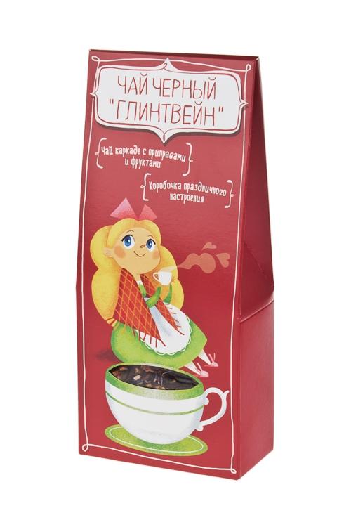 Чай Чай-ГлинтвейнСувениры и упаковка<br>Чай фруктово-травяной, 50г<br>