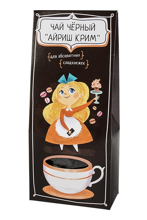 Сувенир Для абсолютных сладкоежекПодарки для женщин<br>Чай черный айриш крим, 50г<br>