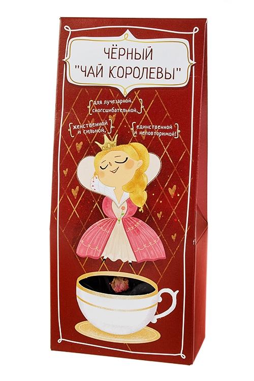 Сувенир Для королевыСувениры и упаковка<br>Чай черный чай королевы, 50г<br>