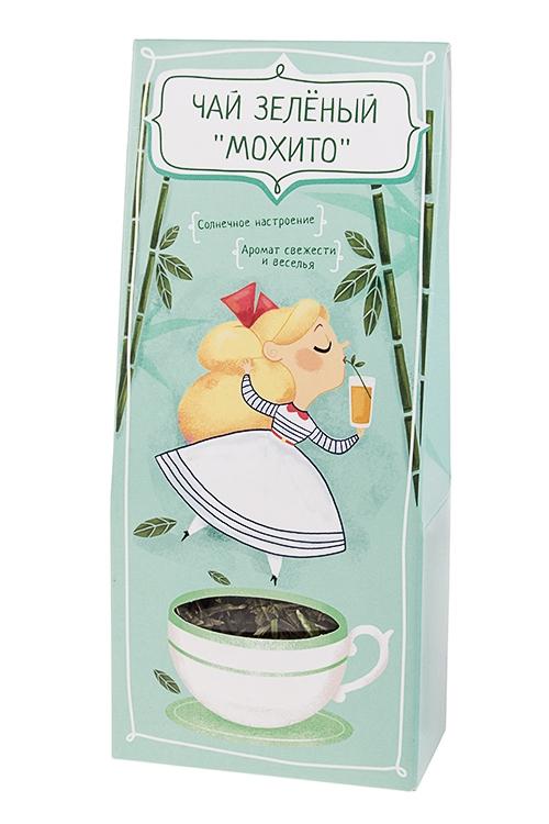 Сувенир Солнечное настроениеПодарки на 8 марта<br>Чай зеленый мохито, 50г<br>