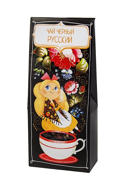Чай Нарядные узорыСувениры и упаковка<br>Чай черный русский чай, 50г<br>
