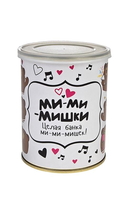 Жевательный мармелад Ми-ми-мишкиПодарки для женщин<br>Мармелад жевательный, 150г, в жестяной банке<br>