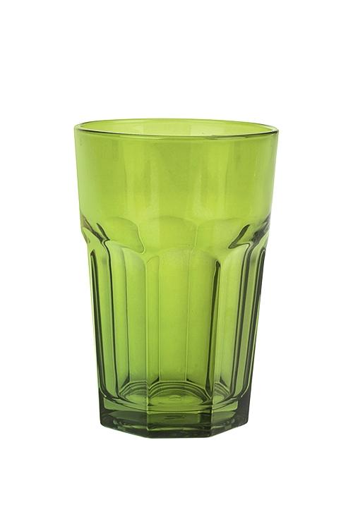 Стакан Энжой ГринПосуда<br>350мл, стекло, зеленый<br>