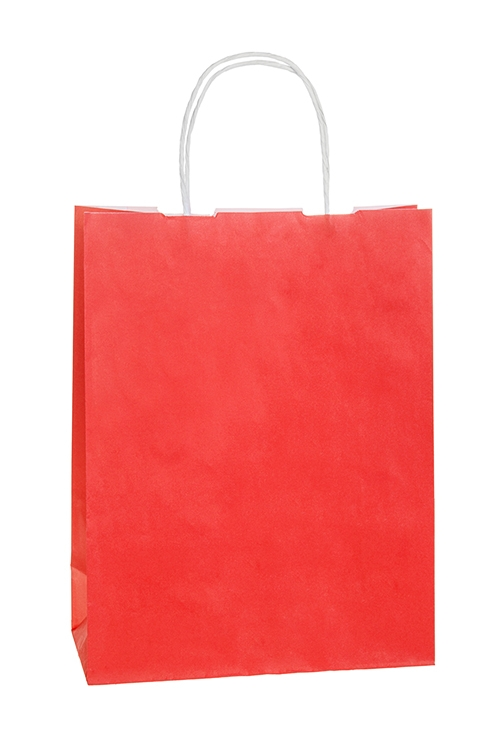 Сумка подарочная ЭкоПакеты на любой повод<br>25*11*32см, бумага, красная<br>