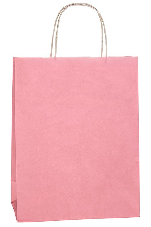 Сумка подарочная ЭкоСувениры и упаковка<br>32*12*42см, бумага, розовая<br>
